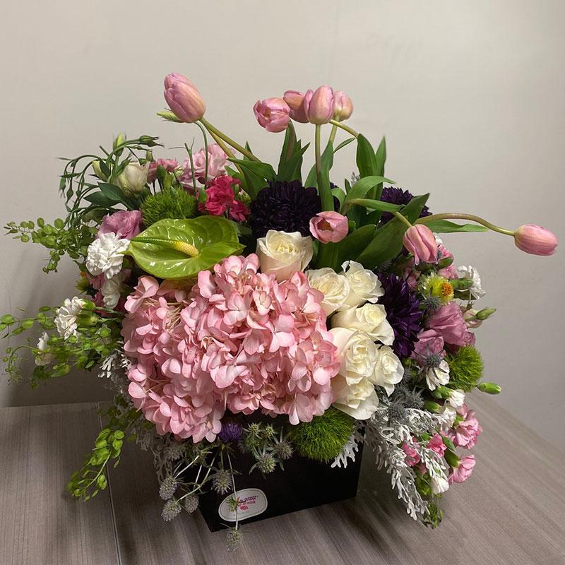 Caja de Flores Premium