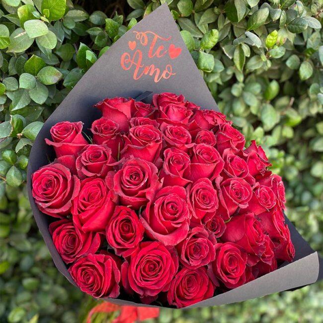 Ramillete de 36 Rosas