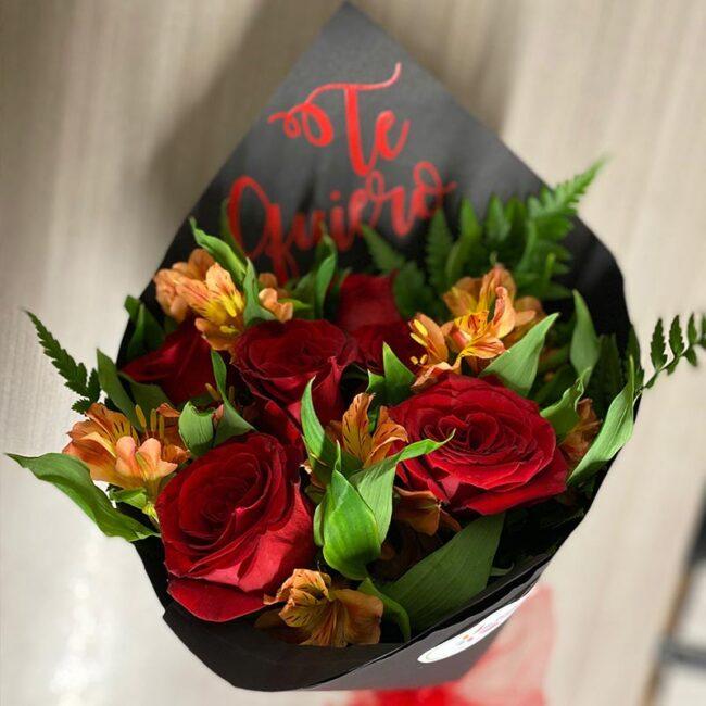 Ramillete de 6 Rosas