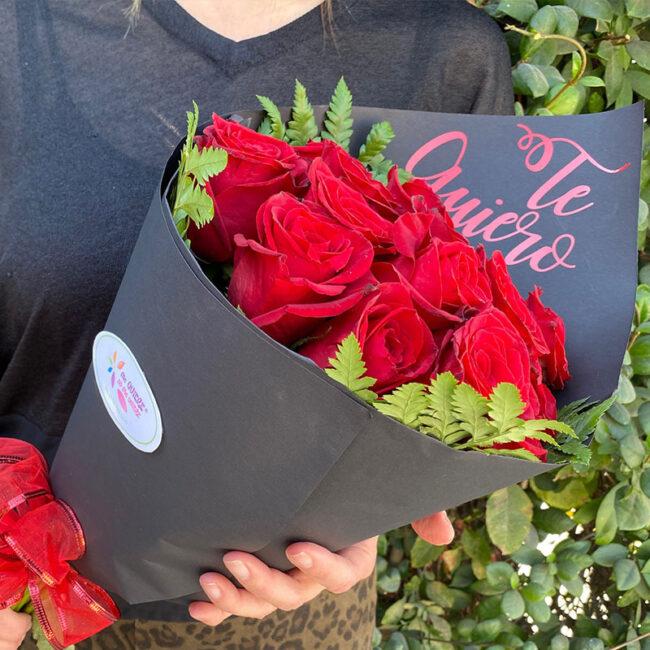 Ramillete de 18 Rosas