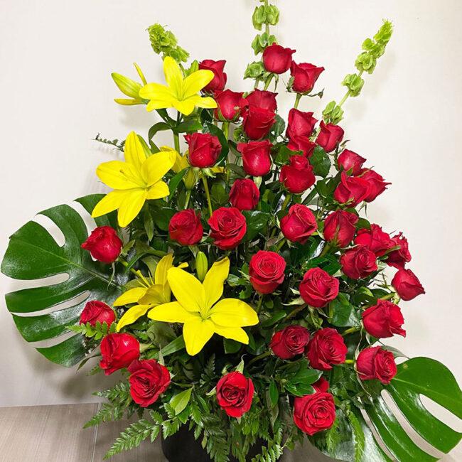 36 Rosas Tradicionales en Arreglo