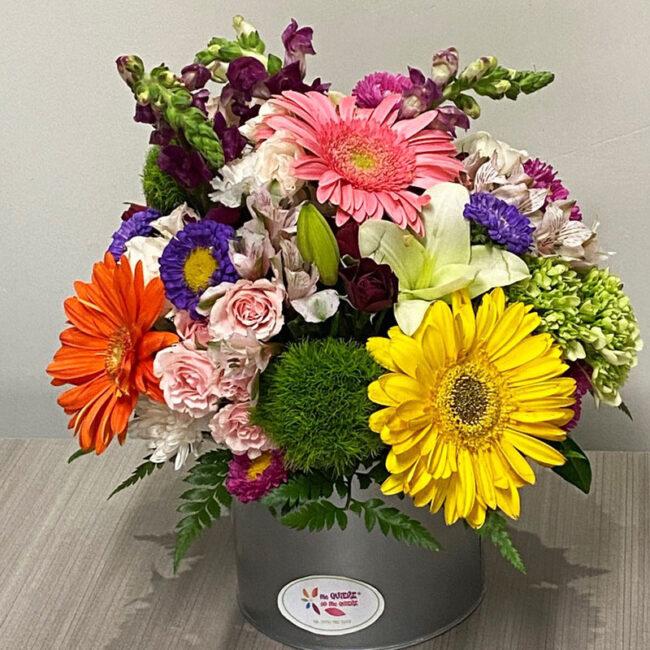 Caja de Flores Tradicional